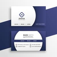 modern business card presentation template