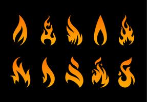 Vector Flame Shapes