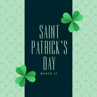 happy st patricks day elegant background