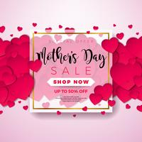 Mothers Day Sale Illustration