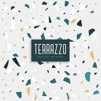 Terrazzi-Steinbeschaffenheitshintergrunddesign