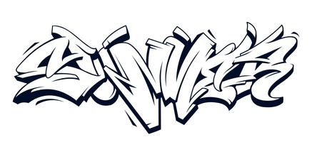 Summer Graffiti Vector Lettering