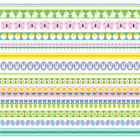 Easter border patterns