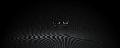 svart partiklar golv banner design