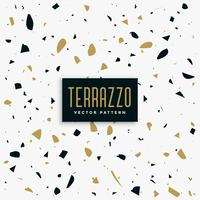 gold and black terrazzo pattern background