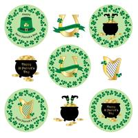 Saint Patrick's Day clipart	 vector