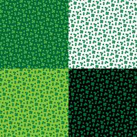 Saint Patrick's Day kleine klaver patronen