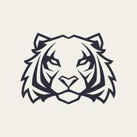 Tigre vector mascota