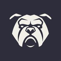Bulldog mascotte Vector Icon