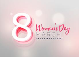 awesome women's day wallpaper design