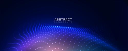 stylish blue technology particles background