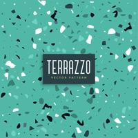 blue terrazzo texture pattern background