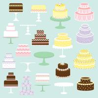 cake clipart vector