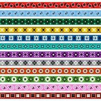 bandana motiv gränsmönster