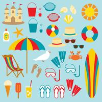 Playa clipart vector