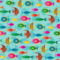 tropical fish background pattern