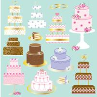 wedding cakes clipart graphics vector