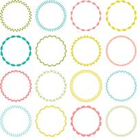 embroidery stitch circle frames