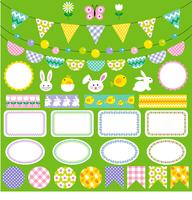 ostern bunting clipart