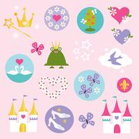 clipart princesa vector