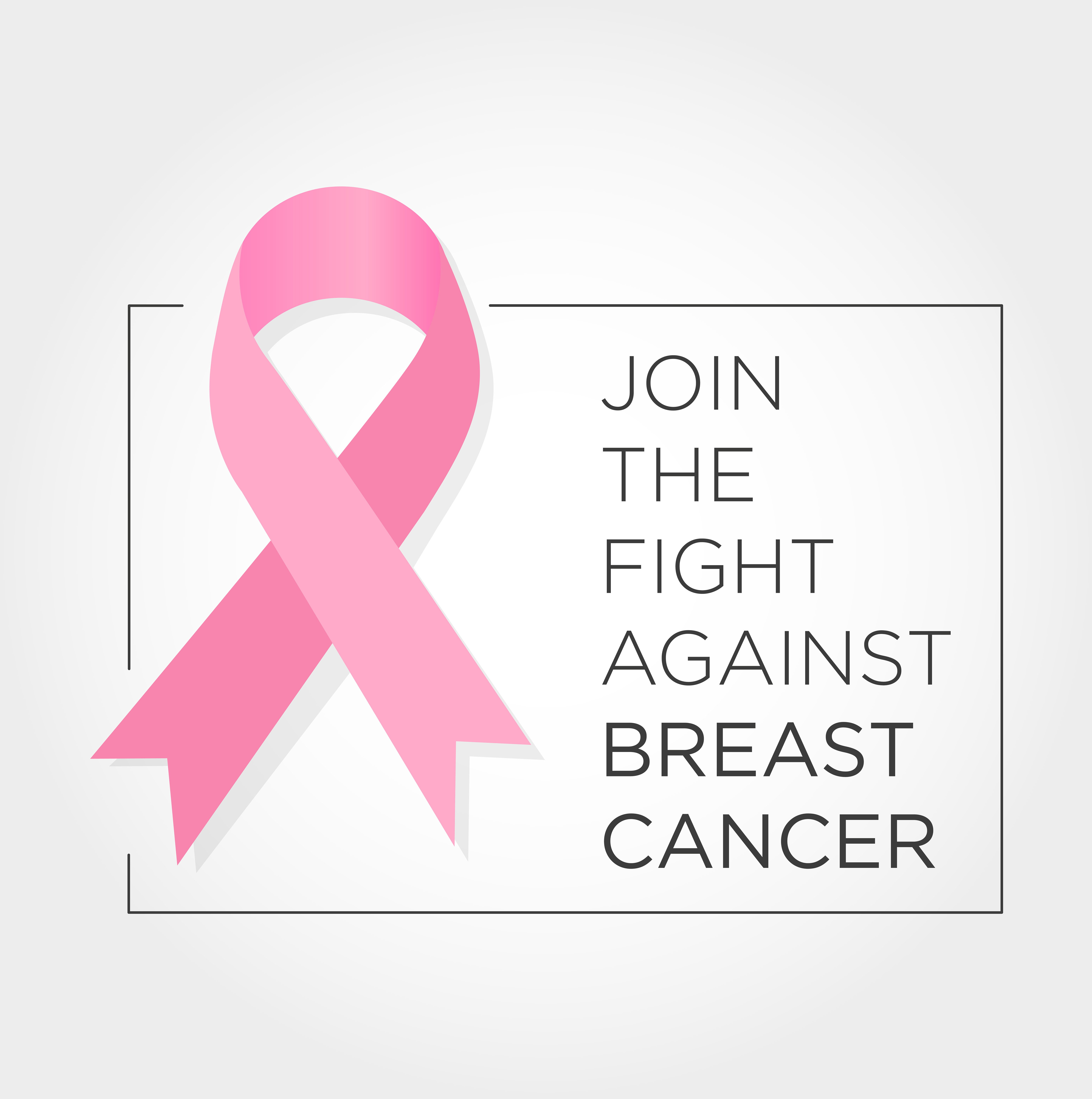 International Day Against Breast Cancer Banner Join The Fight Download Free Vectors Clipart Graphics Vector Art