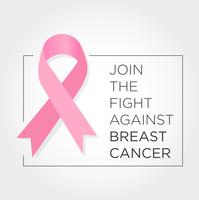 International Day Against Breast Cancer Banner. Join the Fight.