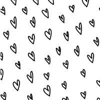 Hearts texture. vector