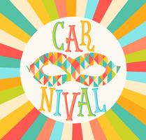 Vector carnival funfair.