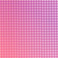 Gradient purle background with soft pink dots.
