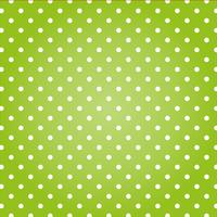 Green background with white dots.