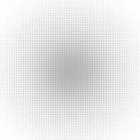 Pop Art Background, graue Punkte auf weißem Hintergrund.