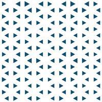 Teste padrão azul geométrico abstrato do triângulo do projeto gráfico.