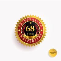 Años de Aniversario Insignia de Oro