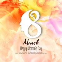 Abstract Women's day beautiful background