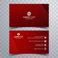 Beautiful Business card template geometric design
