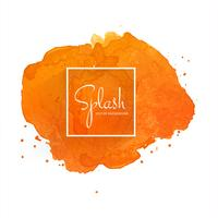 Splash colorful watercolor background
