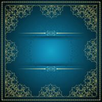 Abstract stylish mandala background