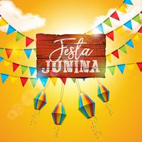 Festa Junina Illustratie