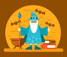 Wizard School Vector