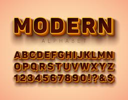 Fuente del alfabeto
