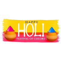 elegant happy holi festival background