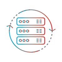 Lijnverloop Perfect pictogram Vector of Pictogram illustratie