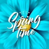 É a ilustração do tempo de primavera