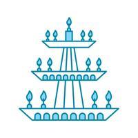 icono de lámpara de vector