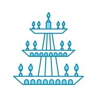 icône de lampe de vecteur