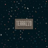 dark terrazzo pattern background design