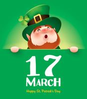 cartoon character of leprechaun