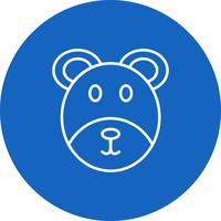 Vector icono de oso