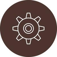 Vector Gear icon