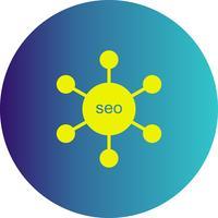 icona di collegamento vettoriale seo
